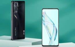 ZTE lança Axon 30, seu segundo smartphone com câmera sob o display