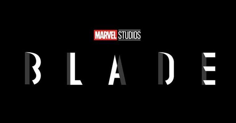 Logotipo promocional do filme 'Blade'