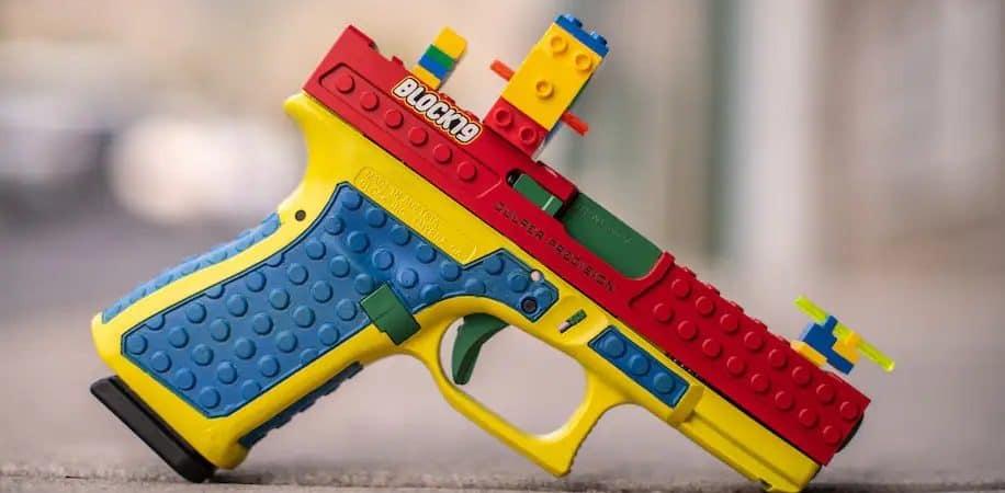 Arma de fuego tipo legos