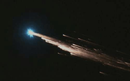 Bola de fogo gerada na reentrada do ATV-5 em 2015