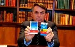 YouTube exclui vídeos de Bolsonaro com informações falsas sobre tratamento da Covid-19