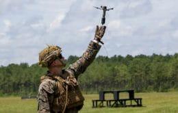 Drone capaz de lançar granadas entra em testes nos EUA