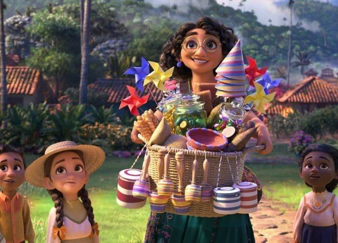 Cena do filme Encanto da Disney