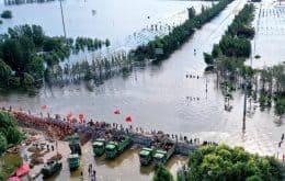 Drones fornecem sinal de internet para regiões afetadas pelas chuvas na China