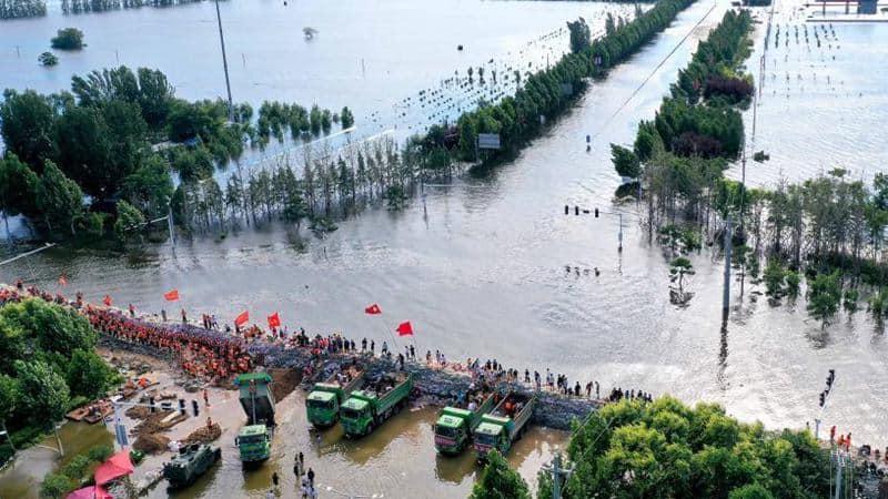 Enchente na China