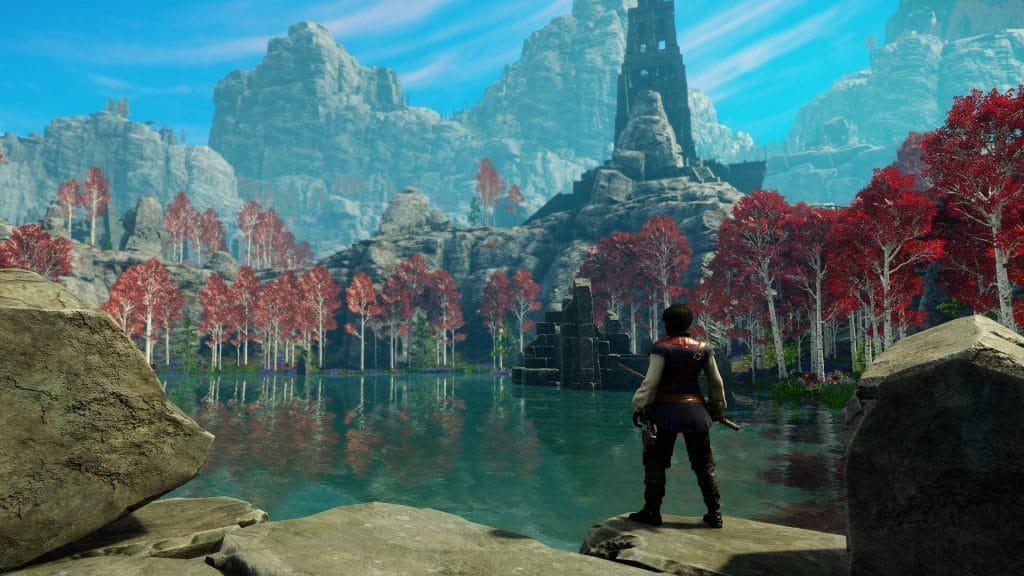 A partir desta terça (20), que fez a pré-compra de 'New World' já poderá conhecer Aeternum. Imagem: Amazon Games/Divulgação