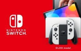 Nintendo Switch com tela OLED custa US$ 10 a mais para ser feito, mas será US$ 50 mais caro