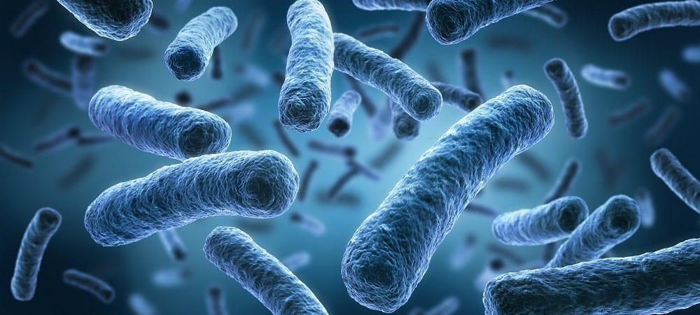 Ilustração de micróbios