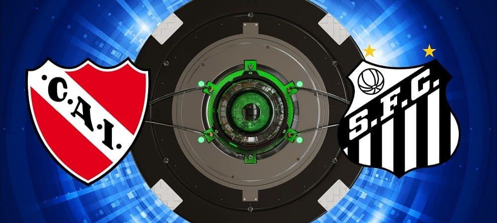 Escudos de Independiente x Santos