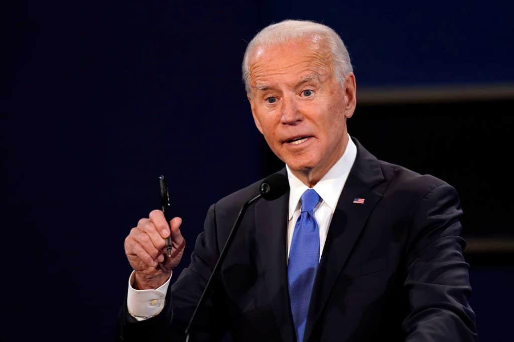 Foto do presidente americano, Joe Biden