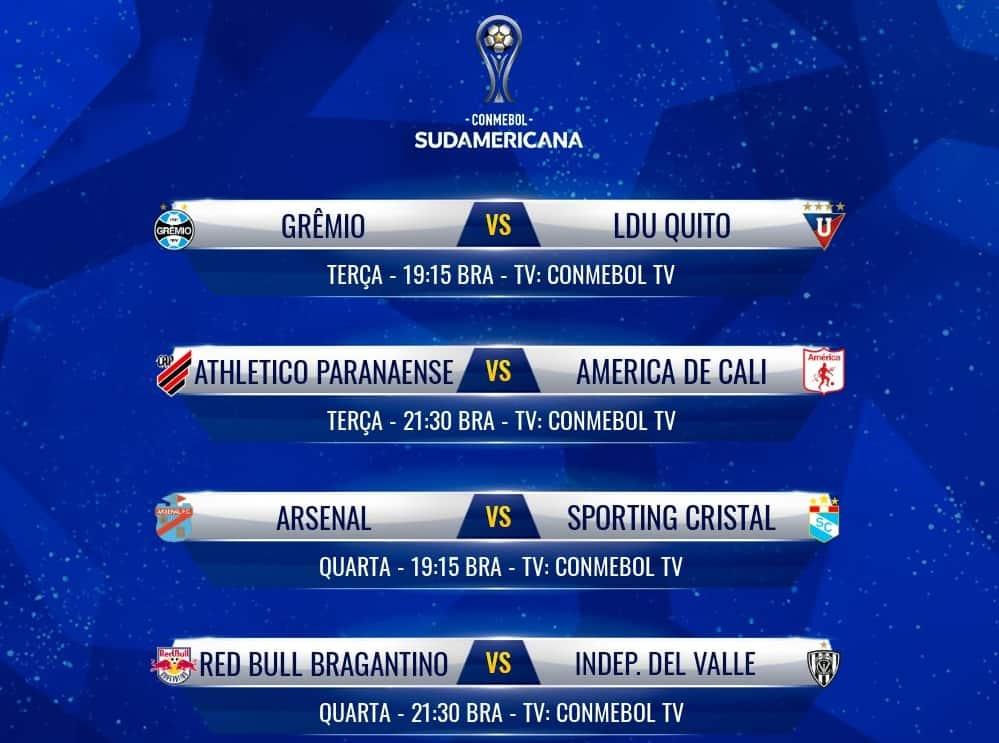 Round of XNUMX games of the Copa Sudamericana