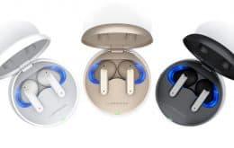 LG atualiza linha Tone Free com novos modelos de fones de ouvido