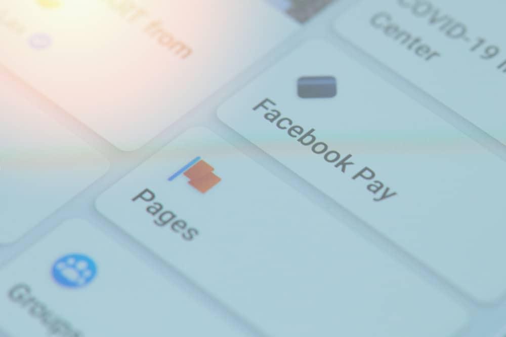 logo do Facebook Pay