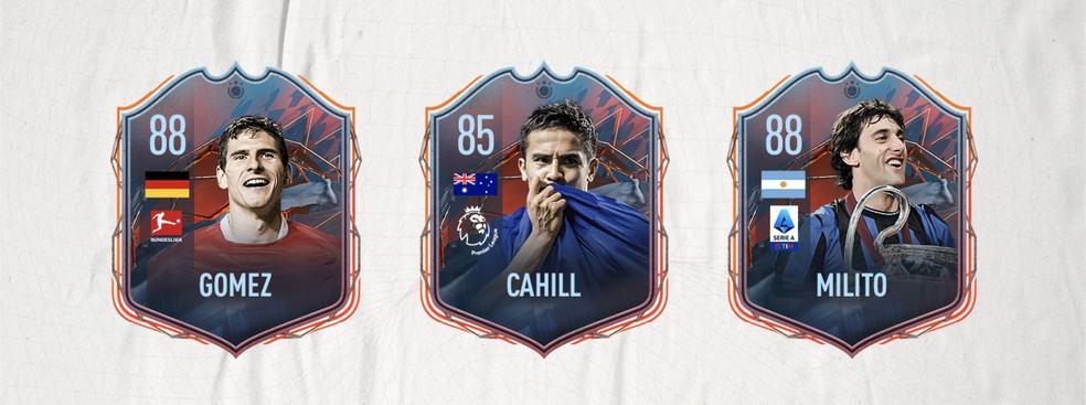 Mario Gómez, Tim Cahill e Diego Milito são alguns dos FUT Heroes do FIFA 22