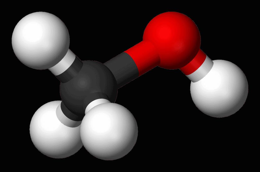 Ligações químicas do Metanol