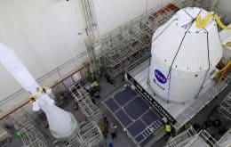 Cápsula que vai à Lua terá sistema de escape para caso de anomalia