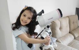Conheça Nicolinha, a (provável) mais jovem astrônoma do mundo