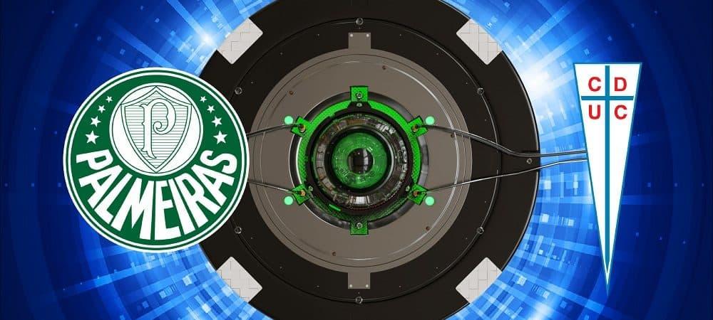 Escudos de Palmeiras x Universidad Católica