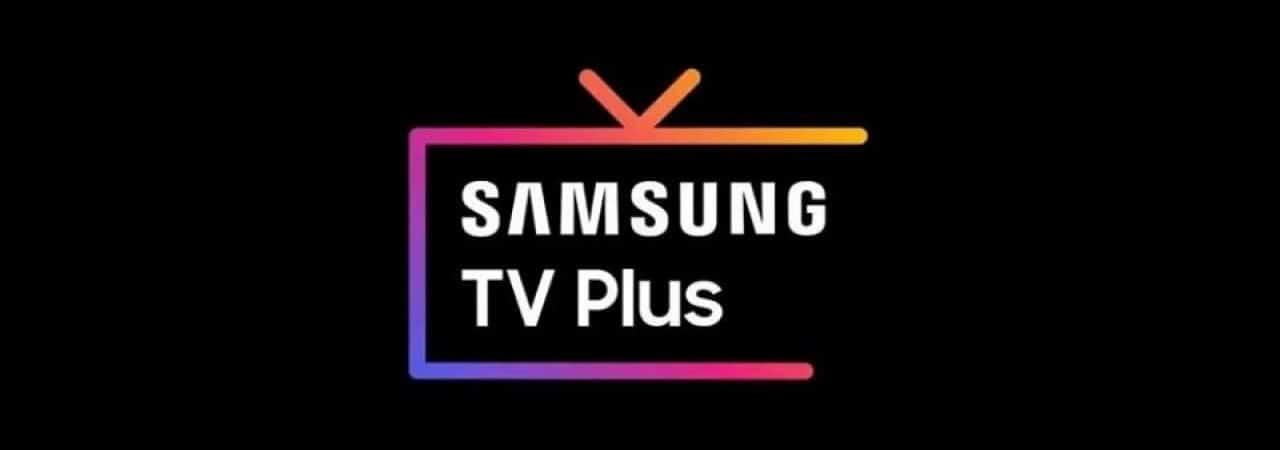 Logo do Samsung TV Plus, serviço de streaming da marca. Imagem: Divulgação/Samsung