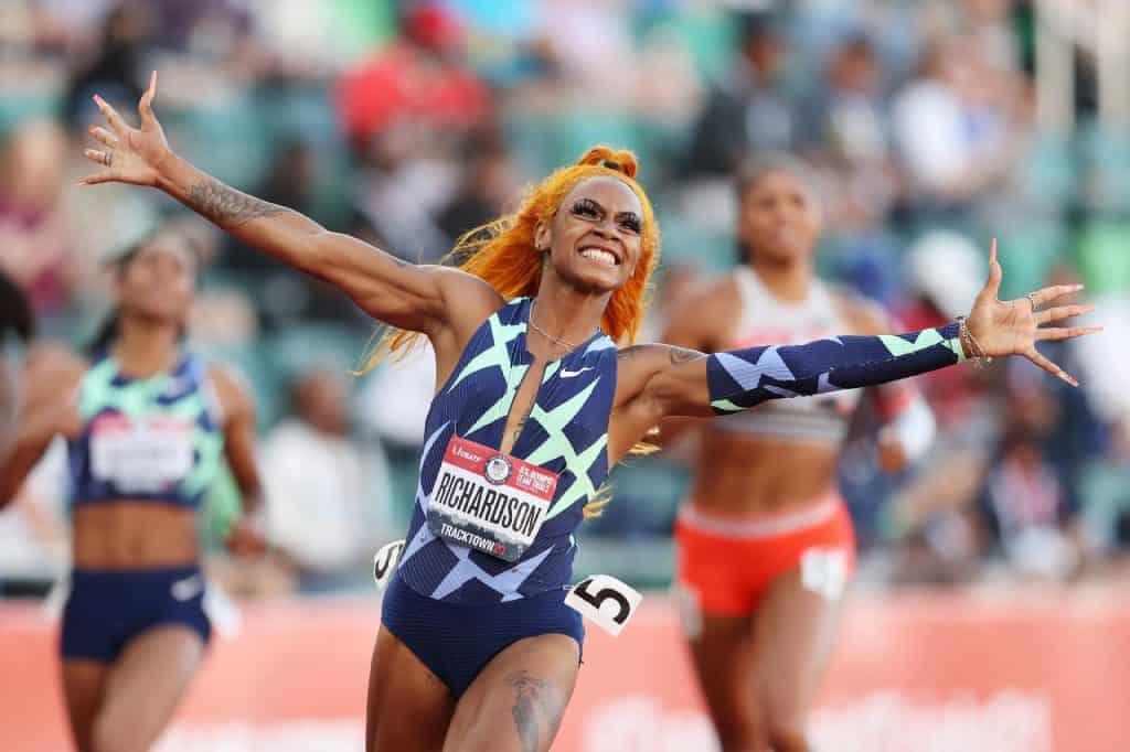 A velocista Sha'Carri Richardson