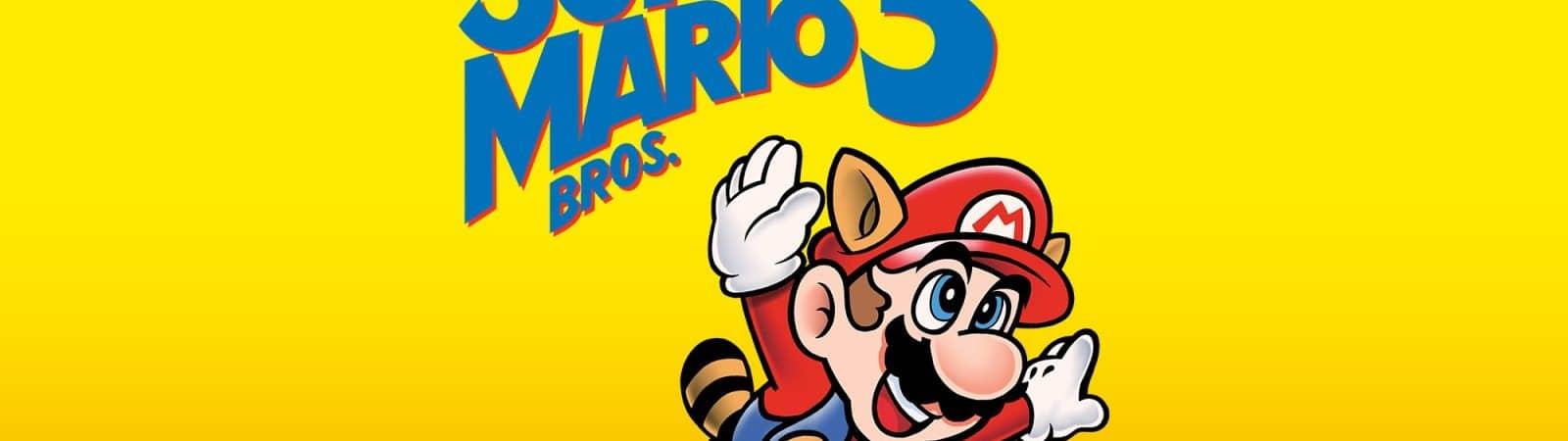 Imagem promocional do jogo Super Mario Bros. 3