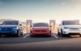 Tesla vai disponibilizar sua rede de carregadores para carros de outras marcas