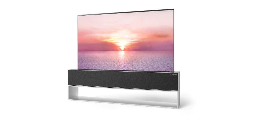 LG Signature R OLED, TV