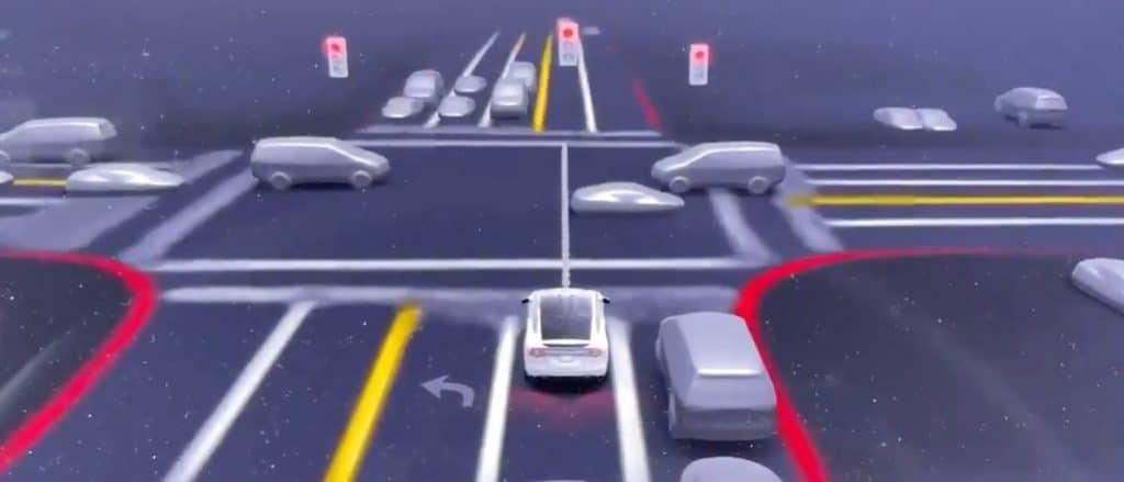 Elon Musk: Tesla Vision logo detectará mudança de direção, luzes da polícia e até gestos com as mãos. Imagem: Twitter/Reprodução