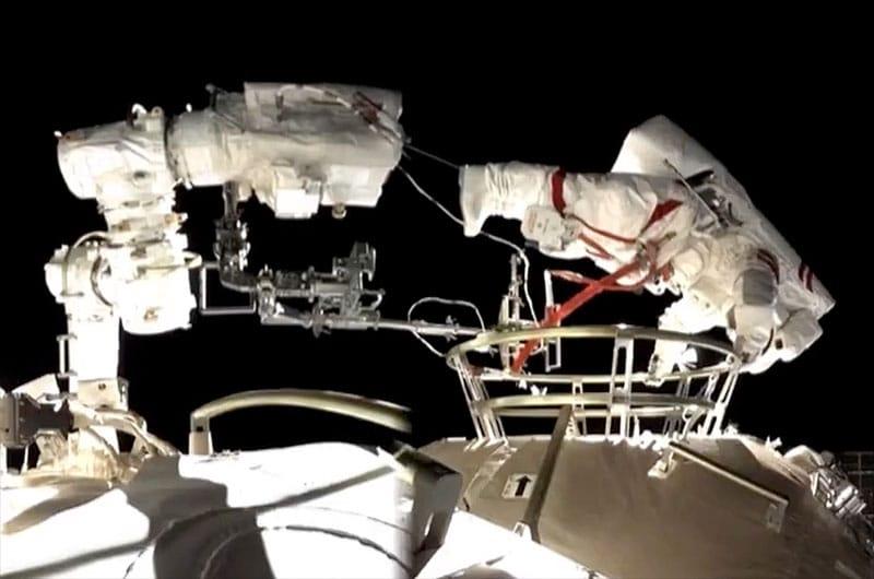 Estação Espacial Chinesa Missão Shenzhou-12