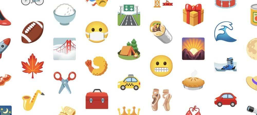 novos emojis Google
