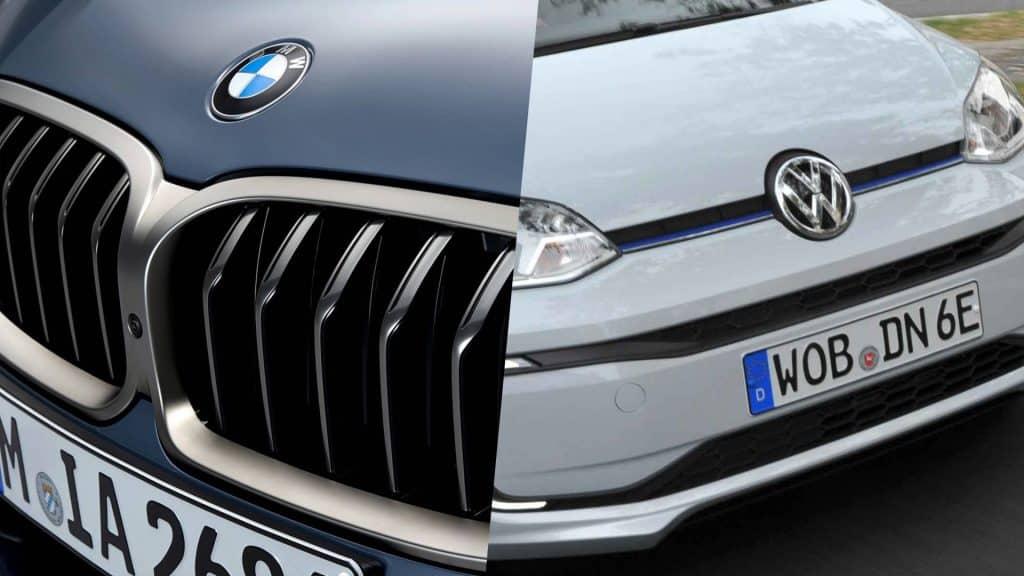 União Europeia multa BMW e Volks por cartel na redução de emissões. Imagem: Montagem/Olhar Digital