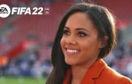 Olhar feminino: Fifa 22 vai ter uma ex-jogadora de futebol como comentarista