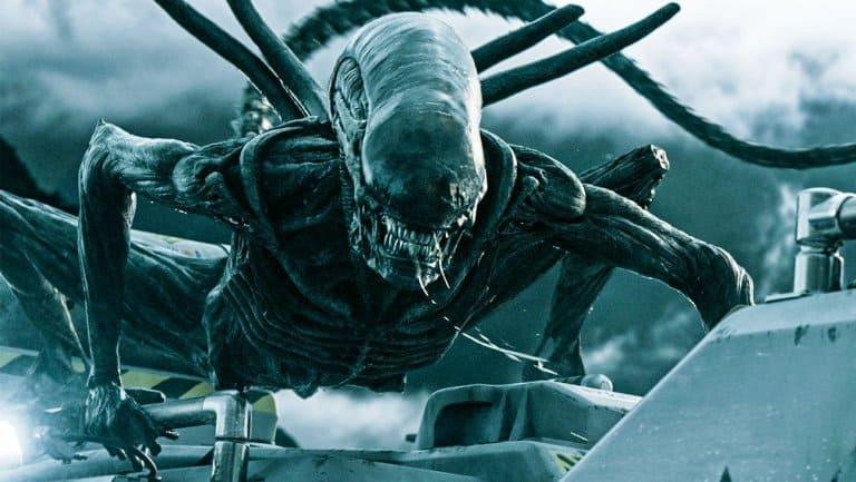 Cena do filme 'Alien: Covenant', de 2017