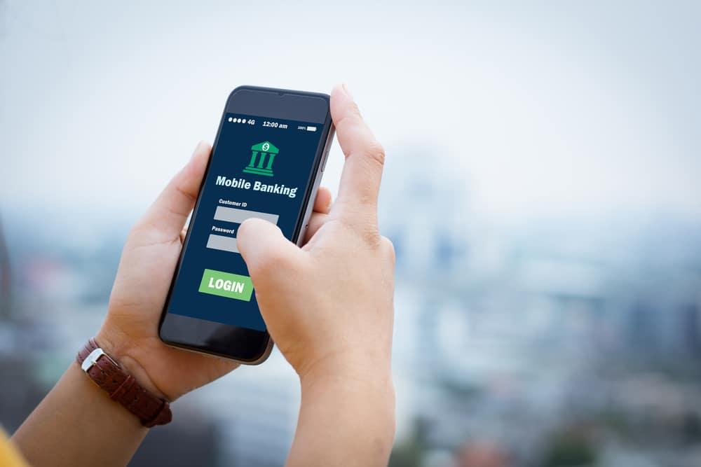 aplicativo de banco, mobile banking