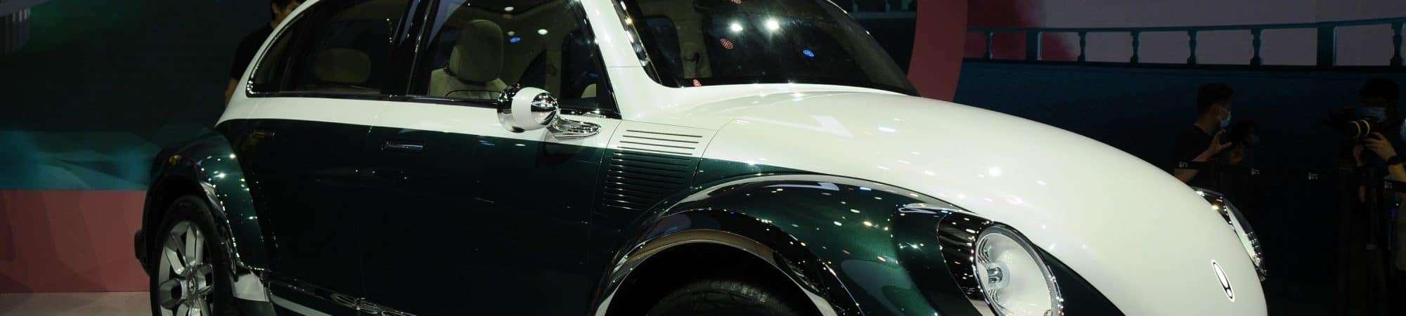 'Clone' chinês e elétrico do Fusca é patenteado na Europa. Imagem: Auto Evolution/Reprodução