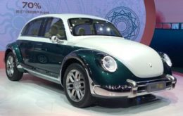 """""""Fusca"""" elétrico chinês pode dar dor de cabeça para a Volkswagen"""