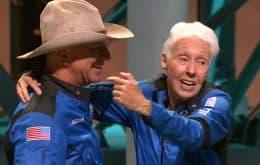 """Bezos: """"os astronautas dizem que estar lá em cima muda a gente – e muda mesmo"""""""