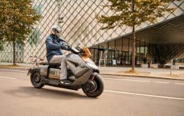 BMW apresenta versão final da scooter elétrica CE 04, que chega às ruas em 2022