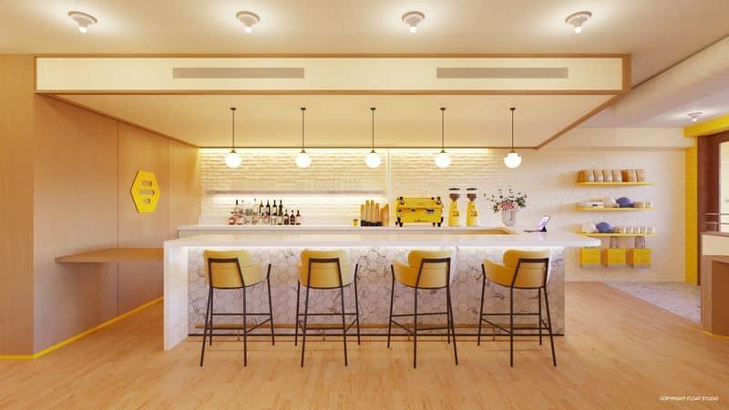 Bumble irá inaugurar restaurante em Nova York. Imagem: Bumble Brew