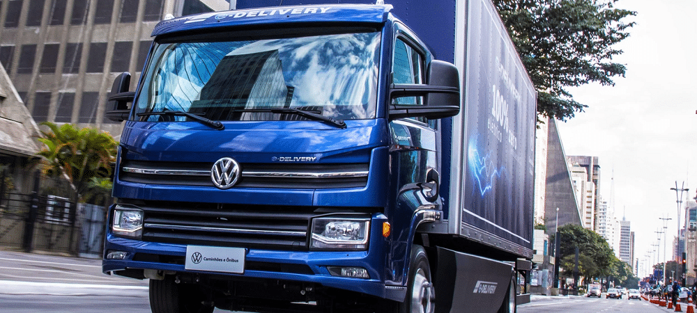 caminhão elétrico e-delivery volkswagen