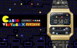 Casio cria versão 'Pac-Man' do relógio digital retrô F-100