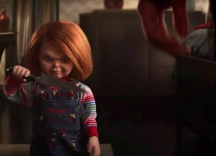 Chucky está de volta e mais terrível do que nunca no trailer da série do 'Brinquedo Assassino'. Imagem: SyFy/Divulgação