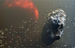 """Cientistas acham """"matéria orgânica"""" no cinturão de asteroides entre Marte e Júpiter"""