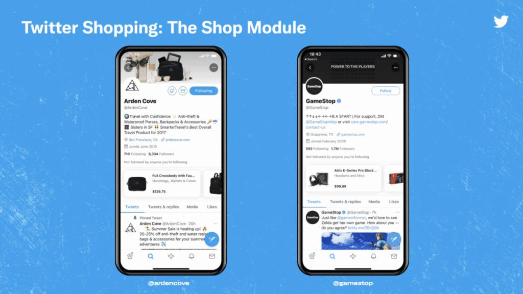 Twitter testa modo de compras no aplicativo