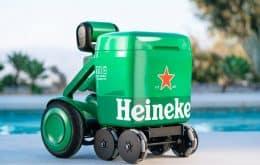 'Brother das festas': Heineken lança cooler autônomo que carrega 12 latinhas