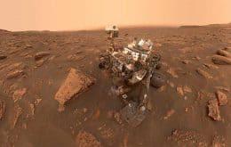 Marte: Curiosity encontra fragmentos de registros de rocha que foram apagados