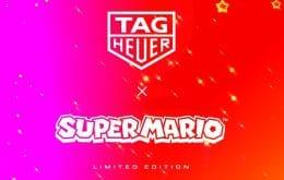 Em parceria com a Tag Heuer, Nintendo irá lançar relógio de luxo temático de 'Super Mario'