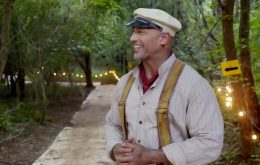 """The Rock hails 'Jungle Cruise', praises Emily Blunt and jokes about being """"too awesome"""" in an interview"""