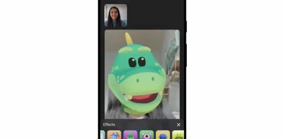Google Meet adiciona filtros e máscaras para tornar chamadas mais engraçadas