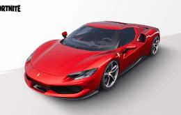 Ferrari 296 GTB chega ao 'Fortnite'